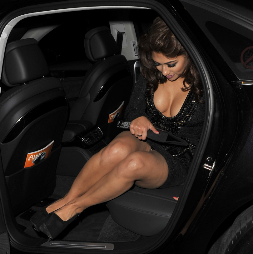 Celebrity upskirts, Vanessa White