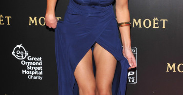Celebrity upskirts, Kirsty Gallacher