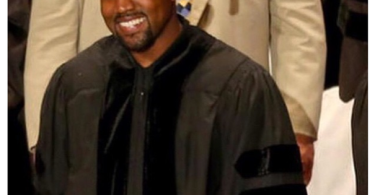 Kanye West at the School of the Art Institute of Chicago